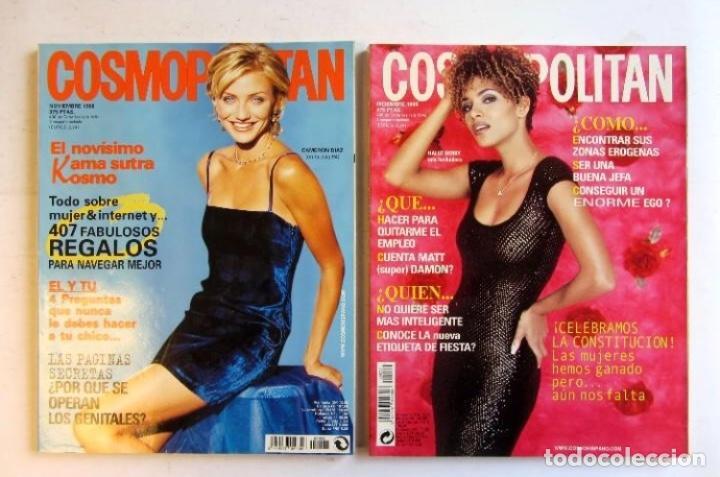 Coleccionismo de Revistas y Periódicos: COSMOPOLITAN 1998 LOTE DE 12 REVISTAS DEL AÑO BUEN ESTADO. VER FOTOGRAFÍAS. - Foto 7 - 128942539