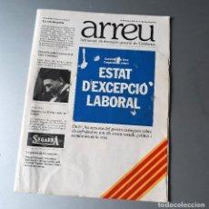 Coleccionismo de Revistas y Periódicos: ARREU NUM 0 OCTUBRE 1976 SETMANARI D'INFORMACIÓ DE CATALUNYA. Lote 128946379