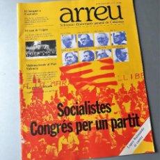 Coleccionismo de Revistas y Periódicos: ARREU NUM 1 OCTUBRE 1976 SETMANARI D'INFORMACIÓ DE CATALUNYA. Lote 128946799