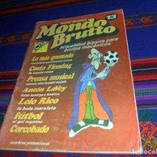 Coleccionismo de Revistas y Periódicos: MUY RARO, MONDO BRUTTO Nº 13 WORLD FAMOUS, ACTUALIDAD BIZARRA PARA BRUTOS MECÁNICOS. VERANO 1997.. Lote 128986471
