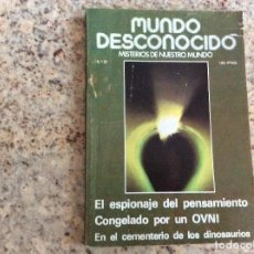 Coleccionismo de Revistas y Periódicos: MUNDO DESCONOCIDO REVISTA N.27. Lote 129019471