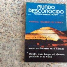 Coleccionismo de Revistas y Periódicos: MUNDO DESCONOCIDO REVISTA N.18. Lote 129019607