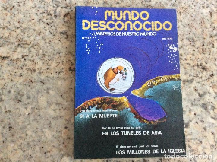MUNDO DESCONOCIDO REVISTA N.14 (Coleccionismo - Revistas y Periódicos Modernos (a partir de 1.940) - Otros)