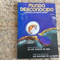 Coleccionismo de Revistas y Periódicos: MUNDO DESCONOCIDO REVISTA N.14. Lote 129019875