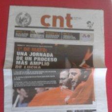 Coleccionismo de Revistas y Periódicos: NEWSPAPER PERIÓDICO CNT SINDICATO AIT SINDICAL MAYO 2012 Nº 389 VER FOTO/S Y DESCRIPCIÓN. IDEAL COL. Lote 129085887