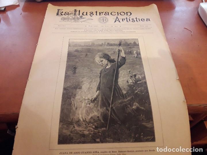 La Ilustración Artística Número 593 De Abril D Comprar Revistas Y