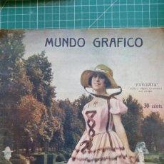 Coleccionismo de Revistas y Periódicos: REVISTA MUNDO GRAFICO PRINCIPIOS S. XX. Lote 129106331