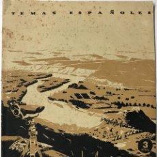 Coleccionismo de Revistas y Periódicos: LA BATALLA DEL EBRO (GUERRA CIVIL) - TEMAS ESPAÑOLES N° 15 - AÑO 1959. Lote 129167647