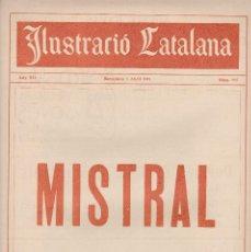 Coleccionismo de Revistas y Periódicos: ILUSTRACIÓ CATALANA 1914 Nº 565 BARCELONA FREDERICH MESTRAL . Lote 129260767