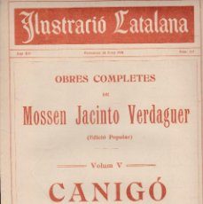 Coleccionismo de Revistas y Periódicos: ILUSTRACIÓ CATALANA 1914 Nº 575 BARCELONA ANIVERSARI BATALLA DEL BRUCH CLUB NATACIÓ BARCELONA . Lote 129262127