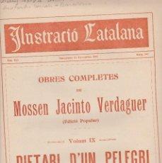 Coleccionismo de Revistas y Periódicos: ILUSTRACIÓ CATALANA 1914 Nº 597 BARCELONA ACTUALITAT BARCELONA . Lote 129283791