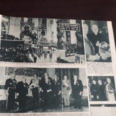 Coleccionismo de Revistas y Periódicos - 1958 funeral del papa pio xii - 129304787