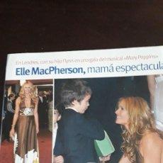 Coleccionismo de Revistas y Periódicos: ELLE MACPHERSON. Lote 129308755