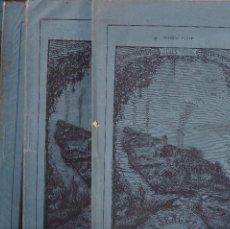 Coleccionismo de Revistas y Periódicos: JULIO VERNE LA JANGADA GASPAR MADRID 1882 1,2,3 Y 4 COMPLETA. Lote 194744563