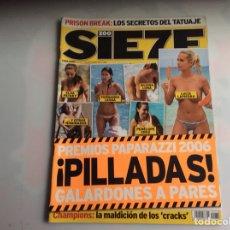 Coleccionismo de Revistas y Periódicos: ZOO SIETE Nº 76 SEPTIEMBRE 2006 - REPORTAJES, CHICAS, DEPORTE,. Lote 27174819