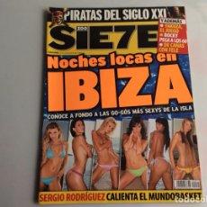 Coleccionismo de Revistas y Periódicos: ZOO SIETE Nº 71 AGOSTO 2006 - REPORTAJES, CHICAS, DEPORTE,. Lote 27174840