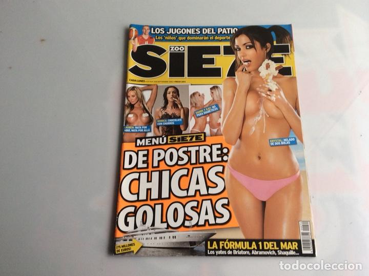 ZOO SIETE Nº 74 SEPTIEMBRE 2006 - REPORTAJES, CHICAS, DEPORTE, (Coleccionismo - Revistas y Periódicos Modernos (a partir de 1.940) - Otros)