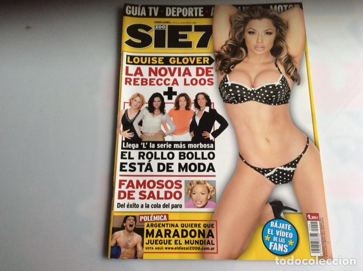 ZOO SIETE Nº 41 ENERO 2006 - REPORTAJES, CHICAS, DEPORTE, (Coleccionismo - Revistas y Periódicos Modernos (a partir de 1.940) - Otros)
