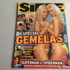Coleccionismo de Revistas y Periódicos: ZOO SIETE Nº 67 JULIO 2006 - REPORTAJES, CHICAS, DEPORTE, ESPECIAL GEMELAS. Lote 27175175