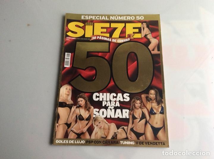 ZOO SIETE Nº 50 MARZO 2006 - REPORTAJES, CHICAS, DEPORTE, (Coleccionismo - Revistas y Periódicos Modernos (a partir de 1.940) - Otros)