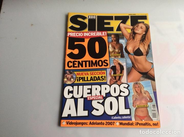ZOO SIETE Nº 65 JULIO 2006 - REPORTAJES, CHICAS, DEPORTE, (Coleccionismo - Revistas y Periódicos Modernos (a partir de 1.940) - Otros)
