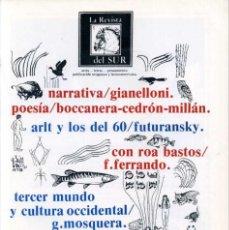 Coleccionismo de Revistas y Periódicos: LA REVISTA DEL SUR / PUBLICACIÓN URUGUAYA Y LATINOAMERICANA / EDITADA EN SUECIA (AÑO V - NÚM. 18). Lote 129377523