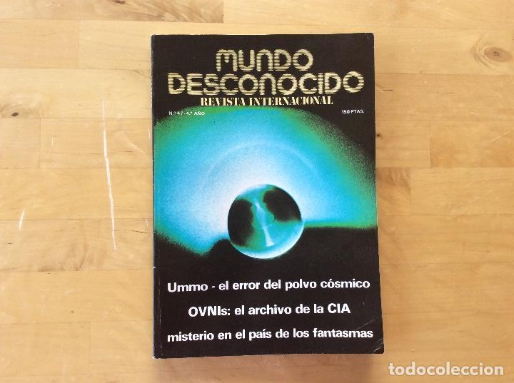 MUNDO DESCONOCIDO REVISTA N.47 (Coleccionismo - Revistas y Periódicos Modernos (a partir de 1.940) - Otros)