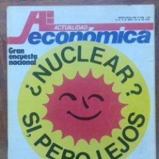 Coleccionismo de Revistas y Periódicos: REVISTA ACTUALIDAD ECONÓMICA N 1203. Lote 129504008