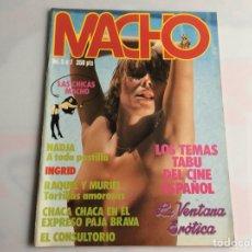 Coleccionismo de Revistas y Periódicos: MACHO VOL. 5 Nº 7 REVISTA EROTICA DE AÑOS 90. Lote 129635891