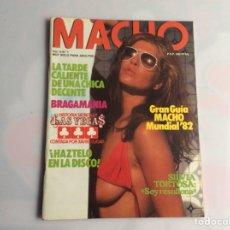 Coleccionismo de Revistas y Periódicos: MACHO VOL. 4 Nº 1 REVISTA EROTICA DE AÑOS 80. Lote 129639663