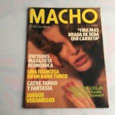 Coleccionismo de Revistas y Periódicos: MACHO VOL. 4 Nº 4 REVISTA EROTICA DE AÑOS 80. Lote 129642199