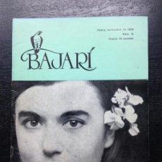 Coleccionismo de Revistas y Periódicos: BAJARI, N. 12, NOVIEMBRE, 1968. Lote 129693851