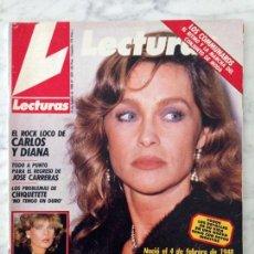 Coleccionismo de Revistas y Periódicos: LECTURAS - 1988 - MARISOL, MARTA SÁNCHEZ, ROCÍO JURADO, COMMUNARDS, ANA OBREGÓN, ESTEFANÍA, CAROLINA. Lote 71415283