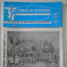 Coleccionismo de Revistas y Periódicos: TEMAS DE ASTURIAS. LA REVISTA DE LOS SENTIMIENTOS REGIONALES. Nº 52 / 52. FEBRERO / MARZO 1990. 42 P. Lote 129961443