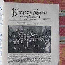 Collectionnisme de Revues et Journaux: 1902-REVISTA BLANCO Y NEGRO.MUERTOS ALLARIZ ORENSE.EXPLOSIÓN ALGECIRAS.CRIMEN CALLE FUENCARRAL.AUTOS. Lote 129990115