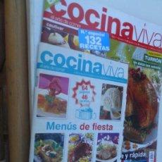 Coleccionismo de Revistas y Periódicos: COCINA VIVA Nº EXTRA -10 ESPECIAL 132 RECETAS . Lote 129995847