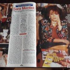 Coleccionismo de Revistas y Periódicos: SARA MONTIEL CARMEN SEVILLA. Lote 130017091