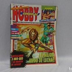 Coleccionismo de Revistas y Periódicos: REVISTA VIDEOJUEGOS HOBBY CONSOLAS AÑO 3 N° 27. Lote 130033291