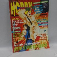 Coleccionismo de Revistas y Periódicos: REVISTA VIDEOJUEGOS HOBBY CONSOLAS AÑO 4 N°30. Lote 130033491
