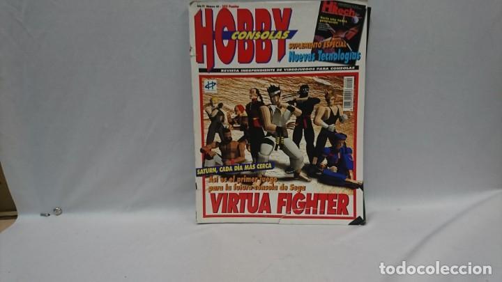 REVISTA VIDEOJUEGOS HOBBY CONSOLAS AÑO 4 N°40 (Coleccionismo - Revistas y Periódicos Modernos (a partir de 1.940) - Otros)