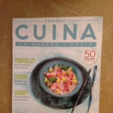 Coleccionismo de Revistas y Periódicos: CUINA 159 ESPECIAL LES MILLORS 50 RECEPTES DE PRIMAVERA ESTIU. Lote 130084510