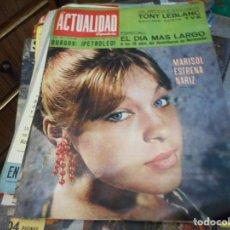 Coleccionismo de Revistas y Periódicos: MARISOL REVISTA LA ACTUALIDAD ESPAÑOLA. Lote 130089315