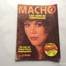 Coleccionismo de Revistas y Periódicos: MACHO ESPECIAL Nº 5 REVISTA EROTICA DE LOS 80. Lote 130094247