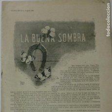 Coleccionismo de Revistas y Periódicos: REVISTA ILUSTRADA NUEVO MUNDO. 3 DE AGOSTO DE 1898. FALTA PORTADA. VER DESCRIPCIÓN. Lote 130102387
