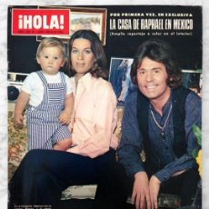 Coleccionismo de Revistas y Periódicos: HOLA - 1980 - RAPHAEL, ISABEL PANTOJA, JULIO IGLESIAS, ROBIN ELLIS, JACLYN SMITH, ROCK HUDSON. Lote 59628255