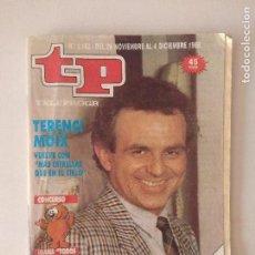 Coleccionismo de Revistas y Periódicos: REVISTA TP/TELEPROGRAMA/N'1.182.. Lote 130257324