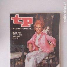 Coleccionismo de Revistas y Periódicos: REVISTA TP/TELEPROGRAMA/N'491.. Lote 130259038