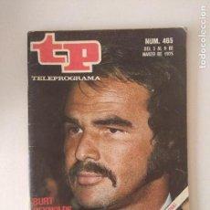 Coleccionismo de Revistas y Periódicos: REVISTA TP/TELEPROGRAMA/N'465.. Lote 130259990