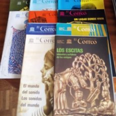 Coleccionismo de Revistas y Periódicos: EL CORREO DE LA UNESCO: AÑO 1.976: 10 REVISTAS. Lote 130262566