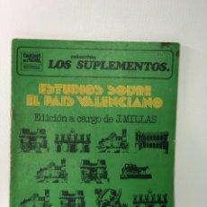 Coleccionismo de Revistas y Periódicos: LOS SUPLEMENTOS ••• ESTUDIOS SOBRE EL PAIS VALENCIANO ·· •• N 53. Lote 130273558